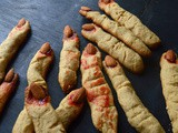 Witch Finger Cookies | Halloween Special | Step by Step pictures
