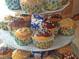 Muffin e cupcake glassati e decorati
