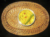 Chal diye lau ghonto - Bottle gourd curry with rice