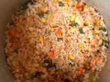 Chinese Fried Rice - How to cook this Vegan but quick fried rice step by step