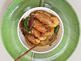 Chingri macher Malaikari - a traditional bengali preparation of prawn curry with coconut gravy