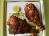 Columbian Fried chicken - Pollo Frito