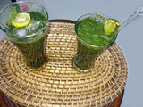 How to make Mint Lime juice - a cool summer drink