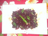 Simple Beetroot Curry - a Vegan preparation