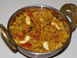 Soya Bean Chunks Kurma / Korma - a Vegan Indian spicy dish