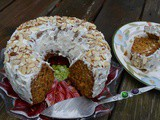 Classic Carrot cake with Cream Cheese Icing