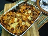 Nachos and Chicken Casserole