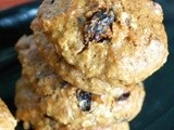 Raisins and Prunes Oatmeal Cookies