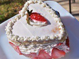 Strawberry Shortcake with Creme' Chantilly: Celebrating Love