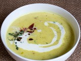 Potato Leek Soup with Bacon and Chives