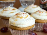 Root Beer Cupcakes with Cream Soda Buttercream Frosting