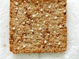 Apricot and White Chocolate Chip Granola Bars