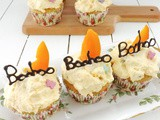 Mango Cupcakes with Mango Passion Fruit Fresh Cream