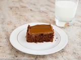 Brownie with dulce de leche [with video]