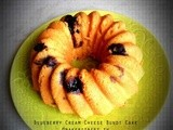 Blueberry Cream Cheese Bundt Cake #BundtaMonth