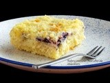Blueberry Lemon Cream Cheese Coffee Cake #SundaySupper
