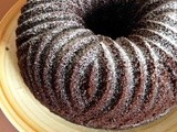 Cream Cheese Black Cherry Chocolate Bundt Cake #bundtamonth