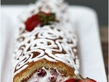Guest Post: Gluten Free Strawberry Almond Roulade
