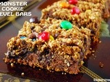 Monster Cookie Revel Bars #SundaySupper