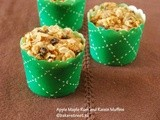#MuffinMonday: Apple Maple Rum and Raisin Muffins