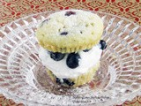 #MuffinMonday: Blueberry Lemon Shortcake Muffins