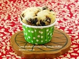 #MuffinMonday: Candy Stuffed Chocolate Chip Pancake Muffins