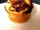 #MuffinMonday: Caramelized Onions and Spinach Muffins