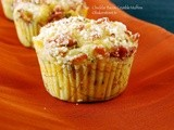 #MuffinMonday: Cheddar Bacon Crumble Muffins