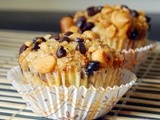 #MuffinMonday: Graham Cracker and Peanut Butter Chocolate Chip Muffins