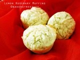 #MuffinMonday: Lemon Rosemary Muffins