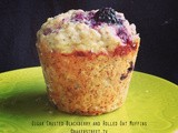 #MuffinMonday: Sugar Crusted Blackberry and Rolled Oat Muffins