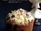 #MuffinMonday: Walnut Chocolate Chip Muffins