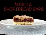 Nutella Shortbread Bars #SundaySupper