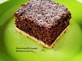 Shortbread Brownies #SundaySupper