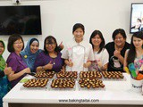Baking Taitai's Pineapple Tarts cny baking workshop (2) with Baker's Brew Studio on 6 February 2016
