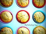 Banana Walnut (or Choc Chip) Muffins