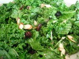 Cranberry-Almond Kale Salad