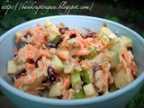 Gingered Cranberry Waldorf Salad