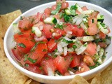 Pico De Gallo with Zucchini
