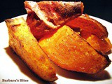 Baked Sweet Potatoes with Curry Powder