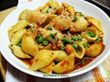 Pasta with Green Peas and Tomato Sauce (pasta e piselli)