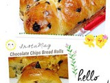Chocolate Chips Bread Rolls