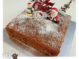 Christmas Fruits Cake