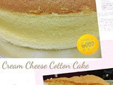 Cream Cheese Cotton Cake