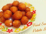 Fried Sweet Potatoes Balls