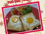 Fun Egg Toast