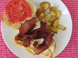 Bacon, Egg and Tomato Sandwich