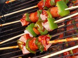 Barbecue Breakfast Kabobs