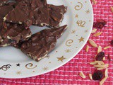 Cranberry Almond Chocolate Bark