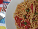 Spaghetti w/simple Tomato Sauce